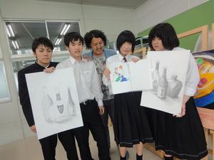 音戸高校美術部員.JPG
