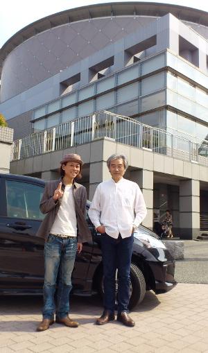 Matsumotosan and Shouji with FREED.JPG