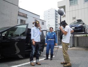Mukusan and Shouji in HFM parking2.JPG